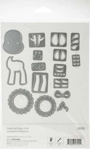 Elizabeth Craft Metal Die Reindeer 810003531452