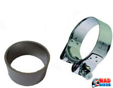 HONDA ST1300 PAN EUROPEAN EXHAUST COLLECTOR BOX GASKET SEAL AND CLAMP