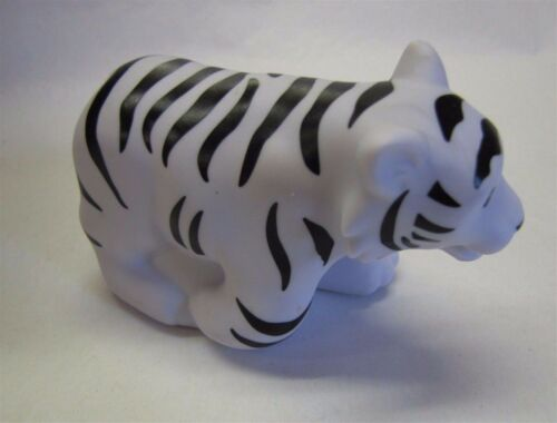 Fisher Price Little People Zoo Talkers ~ WHITE TIGER ~ Interactive Animal Rare!
