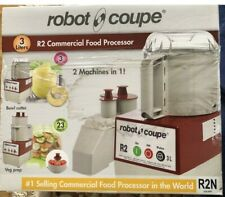 Robot Coup R2n Clr 3 Quart Commercial Food Processor Continuous Feed