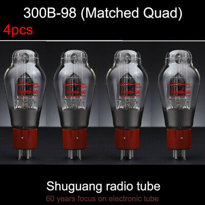4pcs Matched Quad Tested by Factory Shuguang 572B Vacuum Tube