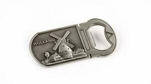 Amsterdam-Holland-Flaschenoeffner-Metall-Magnet-Niederlande-Souvenir