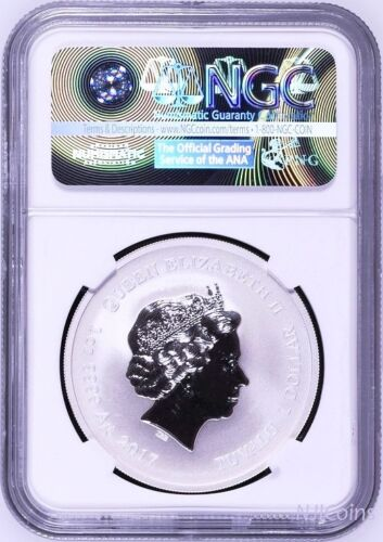 2017 TUVALU Diwali Festival 1oz RV Proof Silver $1 Coin NGC PF70 FIRST Releases
