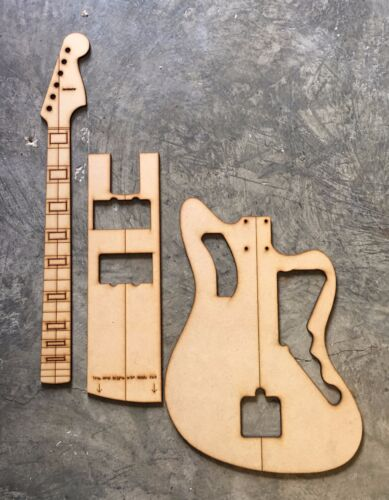 Jazzmaster Luthier Routing Templates-Laser Cut Block Inlay finger board