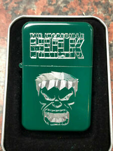 The-Incredible-HULK-logo-LIGHTER-green-finish-with-Gift-Box-Marvel-Avengers-NEW