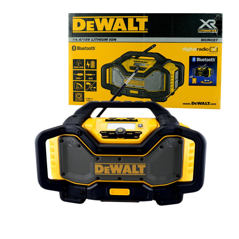 Dewalt DCR027 Baustellenradio mit Blautooth