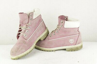 Womens TIMBERLAND Leather Boots LACE