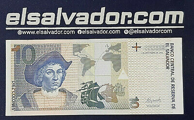 EL SALVADOR 5 COLONES 17-MAR-88 SCARCE SERIE P0