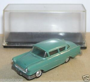 OLD-1960-MICRO-EKO-HO-1-86-1-87-MADE-IN-SPAIN-FORD-CONTINENTAL-BLEU-GRIS-IN-BOX