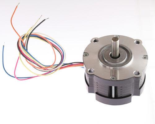 New 24V 1.6A Hybrid Stepper Motor Single Phase 5/16 Shaft Diameter