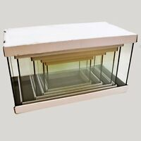 Aqua Japan 5 In 1 Long Rectangle Set - Not Tempered Glass Tank - Free Shipping