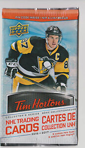 2016-to-2017-Upper-Deck-Tim-Hortons-Hockey-Cards-Unopened-Pack-s