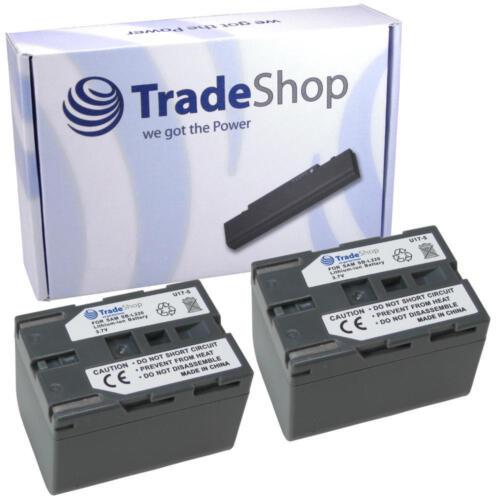 2x batería para Samsung vpd73 vpd73i vp-d75 vp-d75i vp-d76