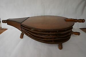 Rare Antique Bellows Studded Maple Coffee Table S Mid Century - Studded coffee table