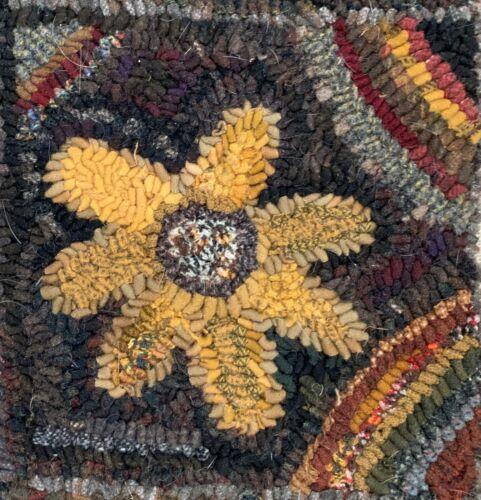 Mis cosas primitivo ~ versión más pequeña alfombra ~ Lino Patrón De Alfombra