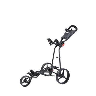 Big Max Autofold Plus - 3-Rad-Golftrolley Farbe Schwarz Neu!