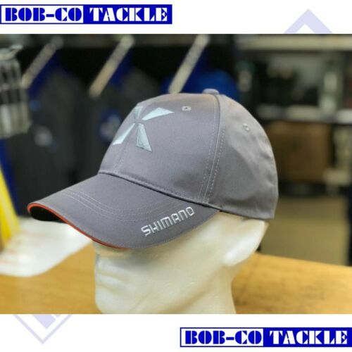 Shimano X Level Cap Grey Orange Fishing Hat Cap