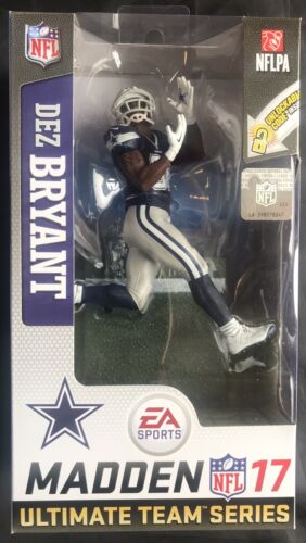 McFarlane NFL Madden 17 Ultimate Team Series 3 DEZ BRYANT Dallas Cowboys Figure