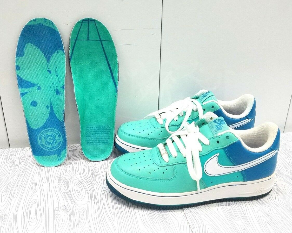 Brand New Nike Air Force One Azure Tropical Teal Wmn's Sz 9 315115-411 2006 RARE