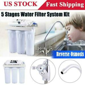 5 Stage Osmosis Drinking Water Filter Purifier Home Ultra-filtrati