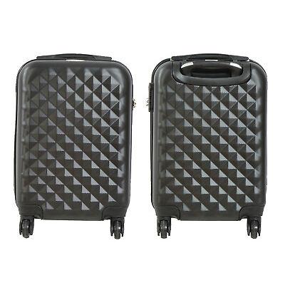 Maleta pequeña de cabina rígida rombo 4 ruedas Low cost equipaje de mano viaje