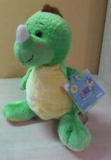 "Ganz Webkinz Key Lime Dino Dinosaur Green Yellow Plush 8.5""  animal NWT sealed"