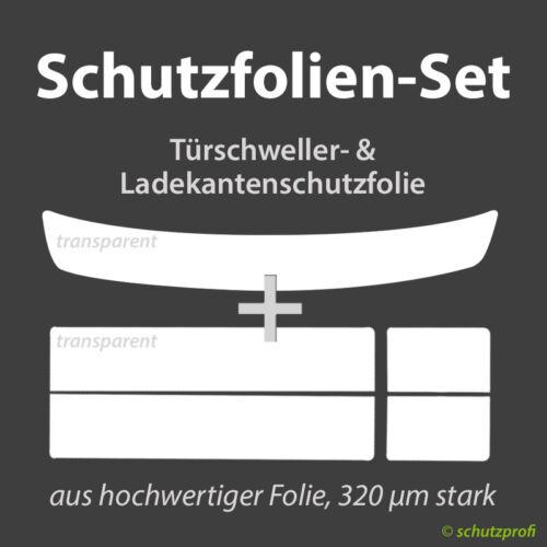 TRANSPARENT NISSAN Micra K14 5-Türer 2017 Schutzfolien-Set