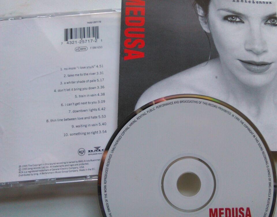 Annie Lennox : 2 CD'er Stk 24 – begge 40 kr., pop