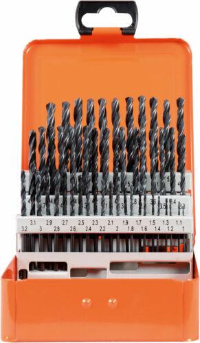 PROJAHN Bohrer Set Satz HSS-R 50tlg 1-5,9//0,1 mm ECO in Kassette