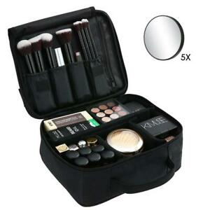 Esonmus Beauty Case Porta Trucchi da Viaggio Donna Trousse Make Up Organizer Bag