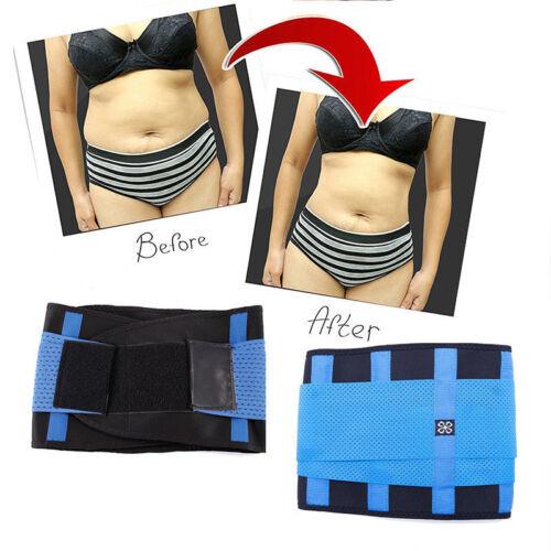 Men Women Waist Trainer Belt Xtreme Power Thermo Body Shaper Cincher Shapewear