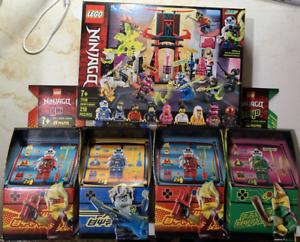 LEGO Ninjago Lot 1 Arcade Pods for Lloyd, Kai & Jay and Gamers Market NIB