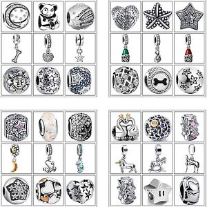 Fine-Charms-European-Beads-Woman-Jewelry-Fit-Fashion-925-Silver-Bracelets-Chain