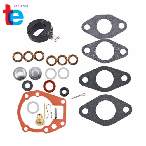 Carburetor Kit/&FLOAT for Johnson Evinrude 1.5 2 3 4 5 5.5 6 HP 439071 18-7043 US