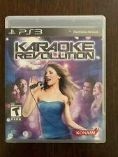 Karaoke Revolution Sony Playstation 3 2009 For Sale Online Ebay