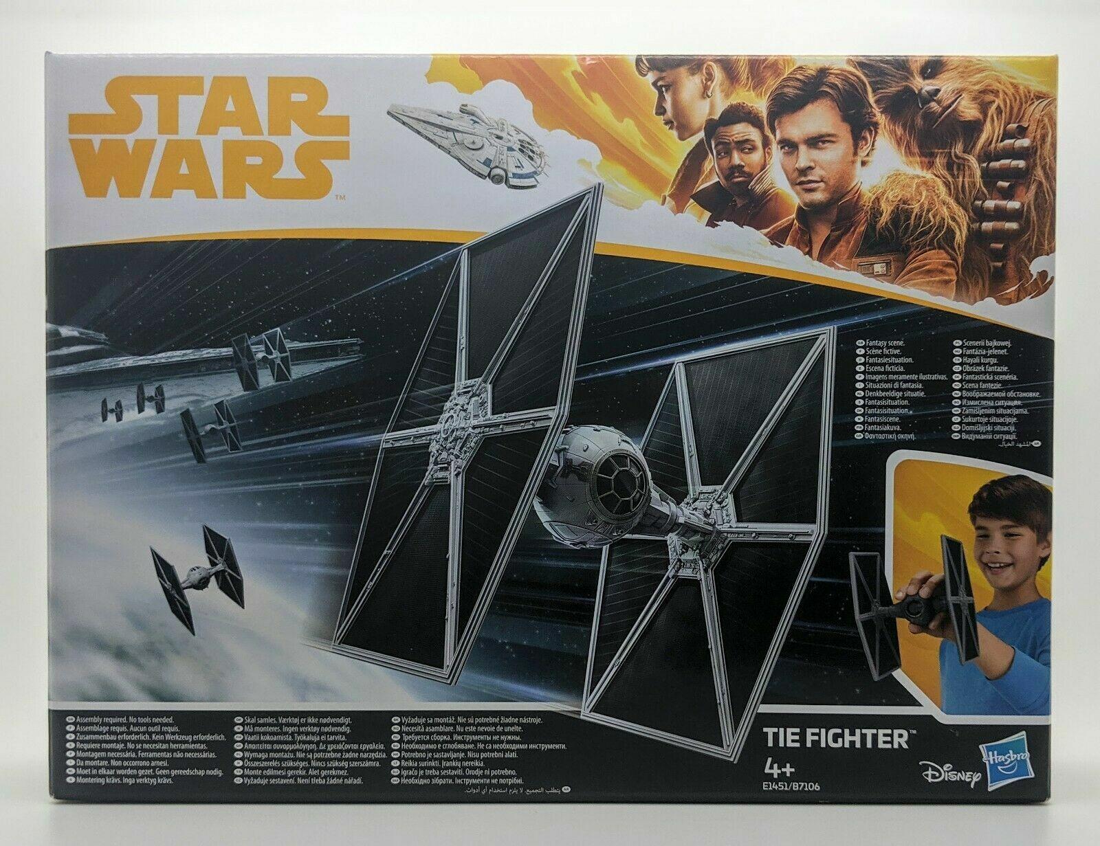 A Han Solo Film Hasbro Star Wars Tie Fighter 16cm Toy Disney