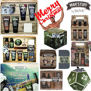 Christmas Gift Sets For Men.Details About Technic Man Stuff Men Toiletry Christmas Gift Sets Bath Body Advent Calendar Box