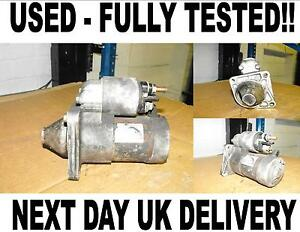 199 AC Starter Motor 2005-On Fits FIAT Grande Punto 1.2 10337UK
