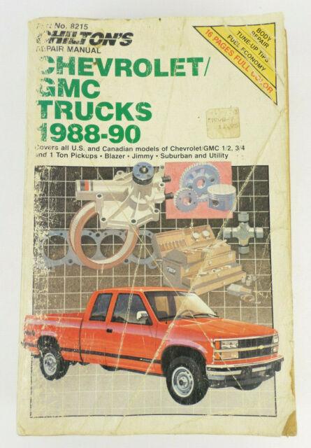 1988 2  3  4  1 Ton Pickups  Blazer
