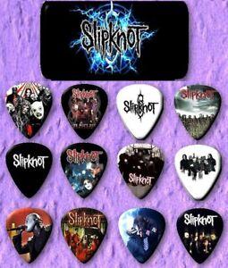 SLIPKNOT-Guitar-Pick-Tin-Includes-Set-of-12-Guitar-Picks