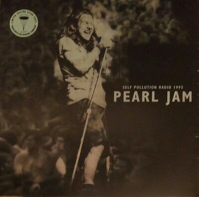 *STILL-SEALED* CLEAR VINYL* PEARL JAM - Self Pollution Radio (2016) 12in LP