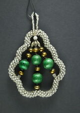 Alter Christbaumschmuck - Gablonzer Jugendstil Ornament um 1920  (# 7096)
