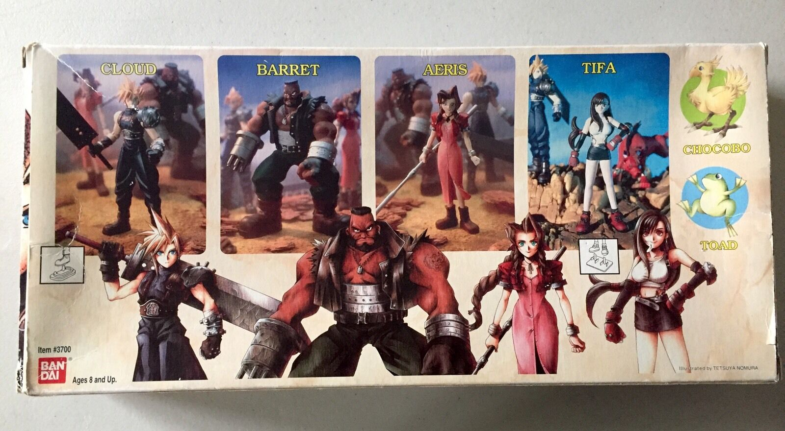Final Fantasy VII Collectible Edition box six set  w/ six box figures-NEW-Factory Sealed fb8757