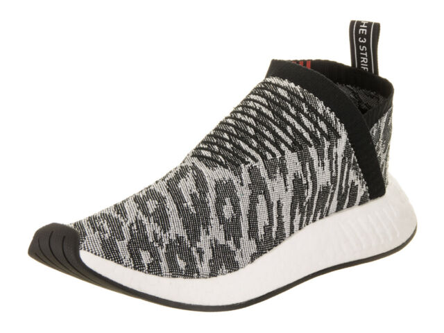 862f4cbdecbf7 adidas NMD Cs2 PK 8-13 Core Black Grey Red White Bz0515. Primeknit City  Sock 2 9