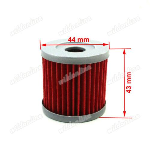 5x Oil Filter For Dirt Bike DRZ400 400E 400X 400SM KLX400SR LTZ400 LTR450 KFX400