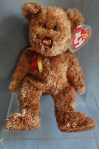 TY BEANIE BABY MASTERCARD M.C. Beanie VII with box hard to find