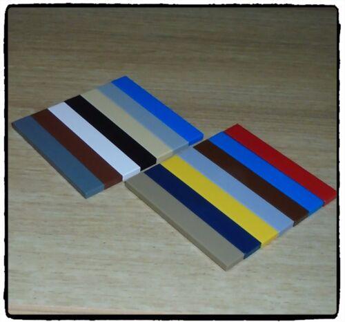 LEGO 6636 Tile 1 x 6 ~SELECT COLOUR /& QUANTITY~
