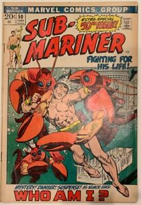 1972-SUB-MARINER-50-1st-appearance-NAMORITA-Bill-Everett-art