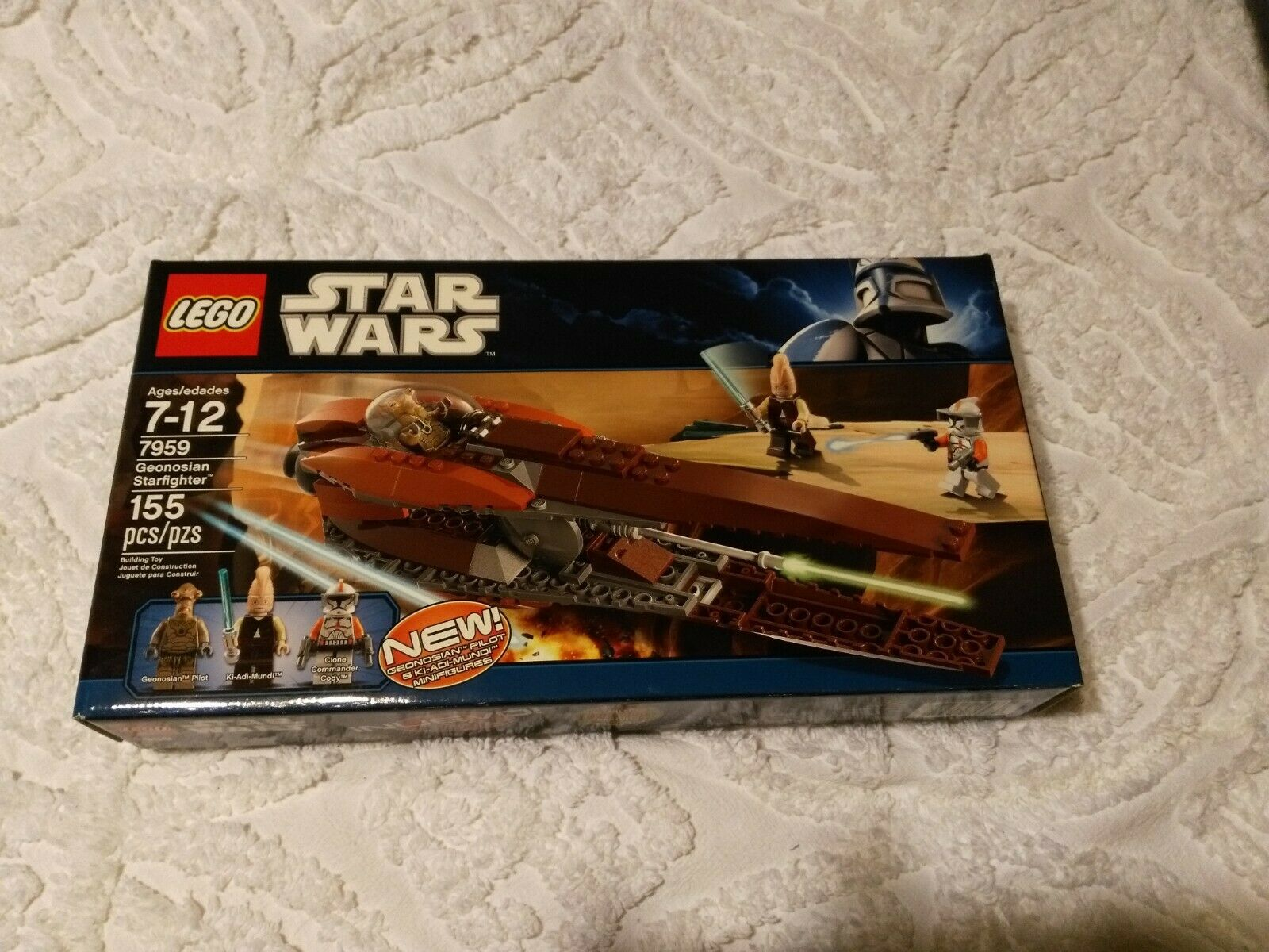 Lego star wars 7959 geonosian starfighter factory sealed nib