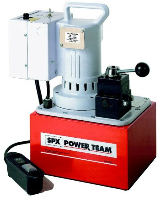 Electric Hydraulic Pump >> Spx Powerteam Pe554 Electric Hydraulic Pump For Sale Online Ebay